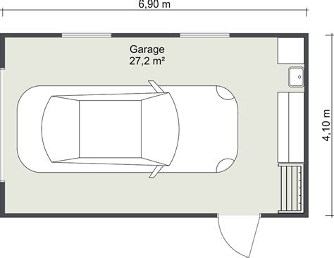 Garage Floor Plan Designer by Garage Plans Roomsketcher