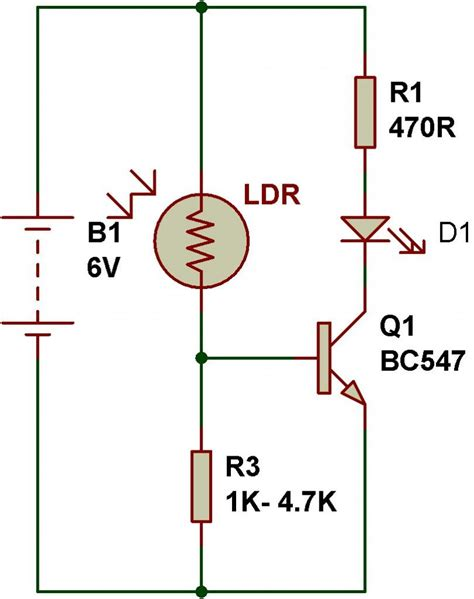 light sensor circuit ldr ldr engineering buildcircuit electronics