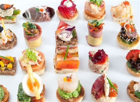 canape s finger food ideas to your rock youne