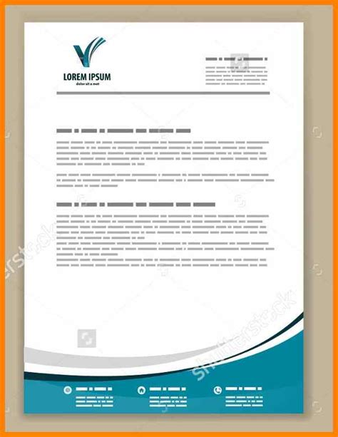 5 Letterhead Sle Edu Techation Create Letter Template