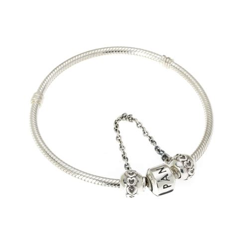 57 pandora bracelet security chain aquamarine march