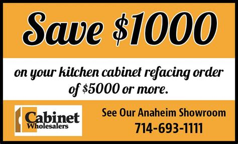 kitchen coupon kitchen cabinet refacing coupon