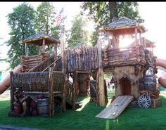 awesome backyard playgrounds awesome playground fort