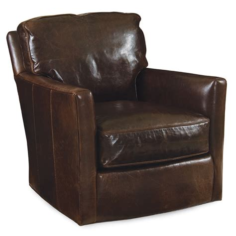 swivel leather chairs ronan swivel chair leather luxe home company