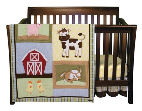 Baby Barnyard Crib Bedding Baby Barnyard 3 Crib Set Blanket Warehouse