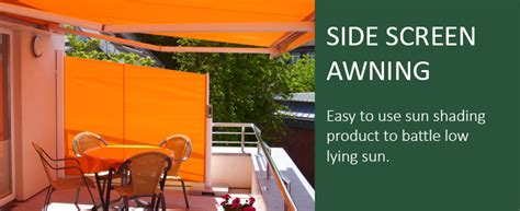 Pull Out Awnings For Decks Retractable Side Screens Awning Blinds Weinor Parvento