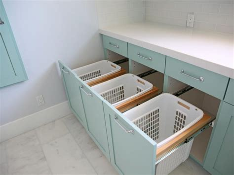 15 Clever Laundry Room Storage Ideas Hgtv Laundry Room Storage Bins