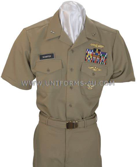 Us Navy Officer Uniforms by Image Gallery Navy Khaki
