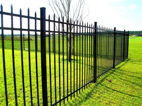 wrought iron fence panels lowes home gardens