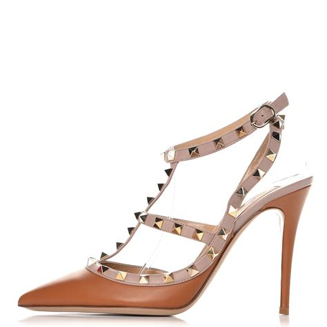 Kaos Valentino Shoes Bw valentino nappa rockstud ankle pumps 39 5 light cuir 243598
