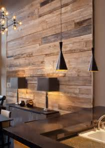 reclaimed wood wall decor chandeliers pendant wood feature walls on pinterest modern wall paneling timber feature