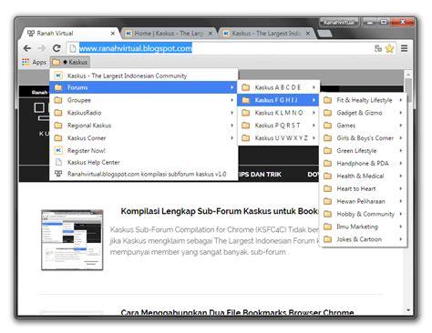 chrome kaskus ranah virtual kompilasi lengkap sub forum kaskus untuk