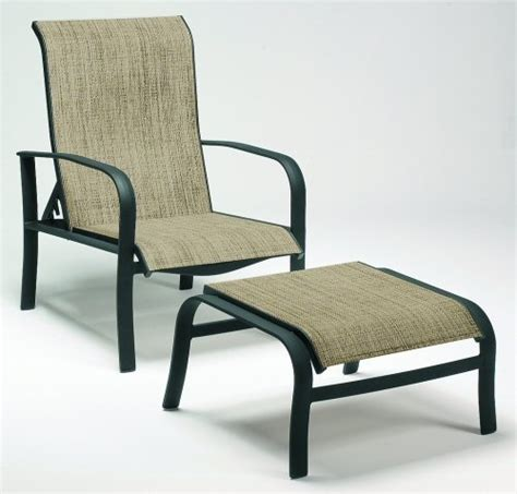 Adjustable Patio Chairs With Ottoman Reclining Patio Patio Chairs With Ottomans