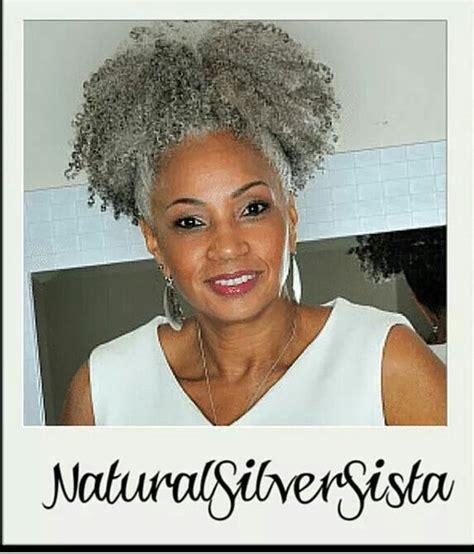 salt and pepper afro styles 308 best silver hair rock images on pinterest