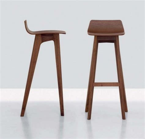 Modern Wood Bar Stool The Morph Modern Contemporary Wooden Bar Stool Designs From Formstelle Iroonie
