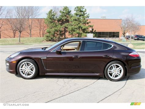 porsche metallic 2011 mahogany metallic porsche panamera 4s 64554838 photo