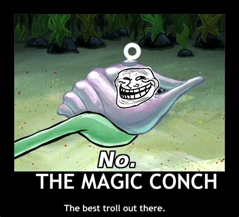 Spongebob Magic Meme - spongebob magic conch meme