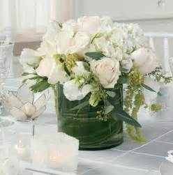 white flower arrangements another beautiful green and white floral