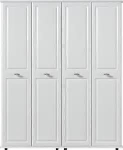 White Assembled Bedroom Furniture Uk White Large Wardrobe 4 Door Oakland Ready Assembled Modern