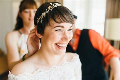 Brautfrisuren Kurzes Haar by Tolle Brautfrisuren F 252 R Kurze Haare Liebe Zur Hochzeit