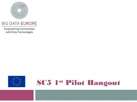 Pilot Description by Sc5 Hangout2 Pilot 1 Description