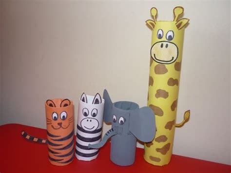 Toilet Paper Roll Crafts Animals - all about a toilet roll animal safari