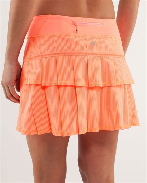 Pop Skirt lululemon run pace setter skirt wagon stripe pop