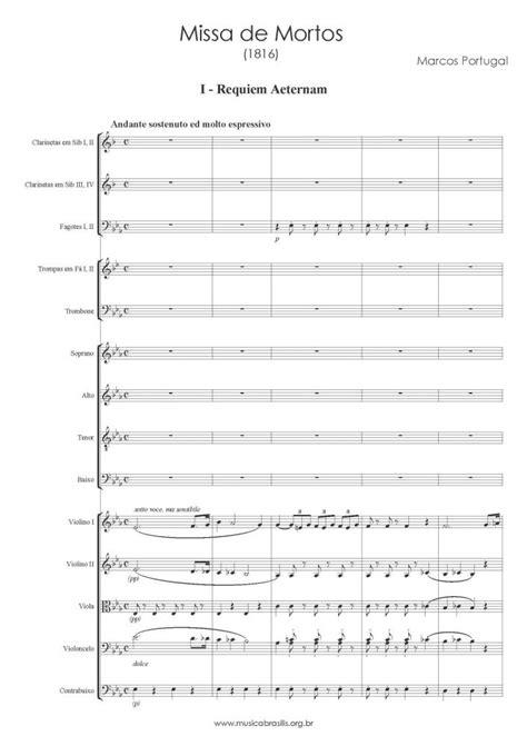 Marcos Portugal - Missa de requiem | Musica Brasilis