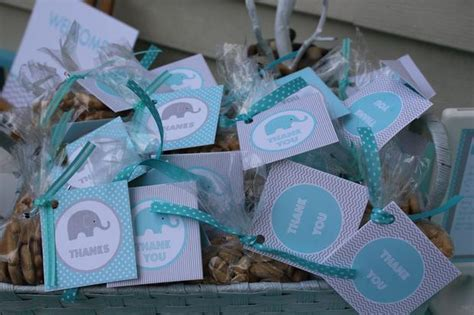 Baby Boy Elephant Shower Ideas by Modern Chevron Elephant Baby Shower Baby Shower Ideas