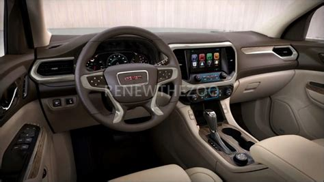 Gmc Acadia 2020 Interior by 2020 Gmc Acadia Denali Release Date Specs Changes 2019