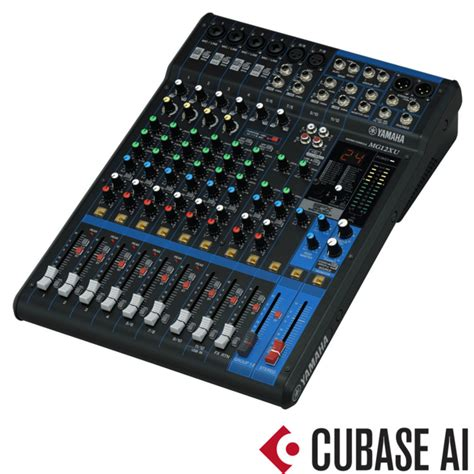 Mixer Yamaha Usb yamaha mg12xu analog usb mixer box opened at gear4music