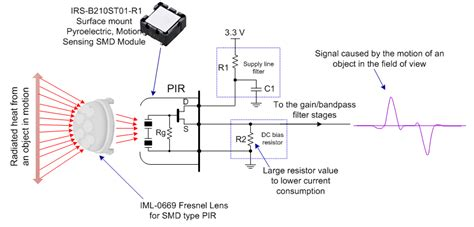 pir motion sensor circuit diagram wiring diagram