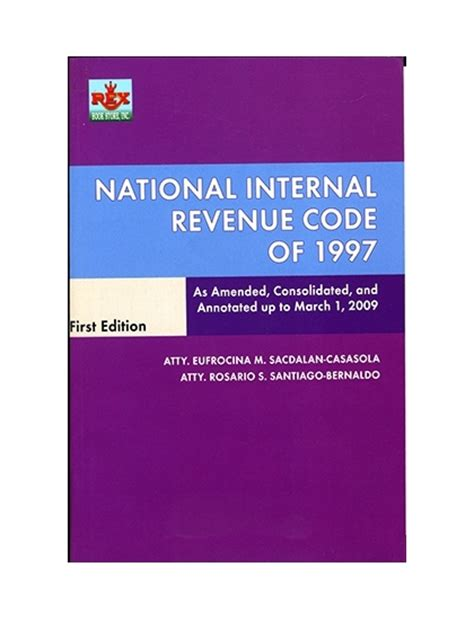 internal revenue code section 71 the national internal revenue code of 1997 by casasola