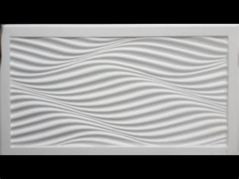 corian 3d panels 3d wave engraving milling on corian sheet