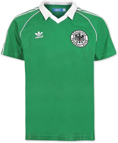 Deutschland T Shirt by Adidas Deutschland Dfb Retro T Shirt Green White