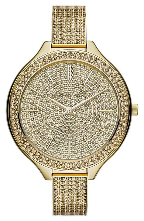 Mk Newyork Gold Leopard 770 best bling watches images on