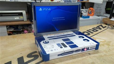 Custom 3d Print 4 3ders org ed zarick uses 3d printing to create a wars themed playstation 4 r2 d2