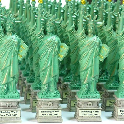 wedding gift ideas new york city statue of liberty statues are customizable for events