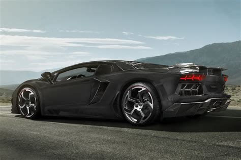 mansory aventador lamborghini aventador gets a full carbon fiber treatment