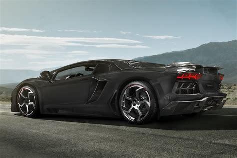 Lamborghini Aventador Gets a Full Carbon Fiber Treatment from Mansory carscoops.com