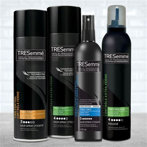 tresemme tres two hair spray extra firm control tresemm 233 174 extra firm control tres two extra hold hairspray