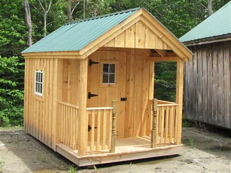 8x12 Cabin Plans by Get Shed Plans 8x12 With Porch Building Shed