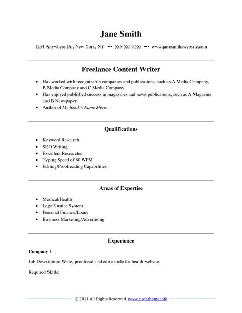 Resume Writing Template Free exles of resumes dating profile writing sles about