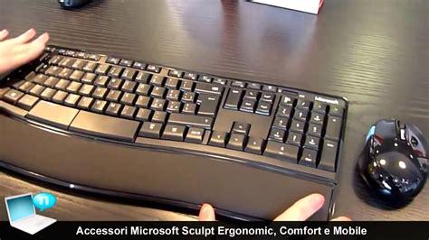 microsoft sculpt comfort desktop accessori microsoft sculpt ergonomic desktop comfort