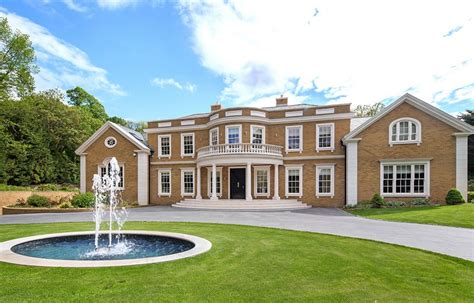 mansion home knightswood house a 163 12 95 million newly built brick