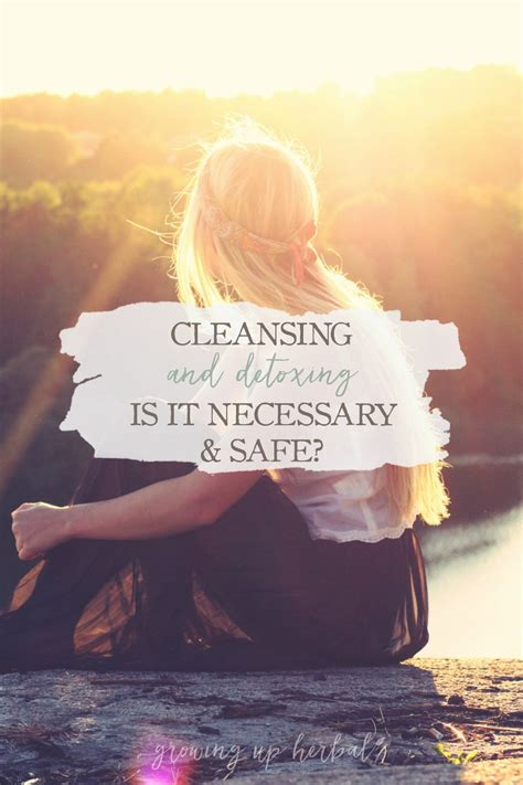Is Detoxing The Necessary by Cleansing And Detoxing Is It Necessary And Safe
