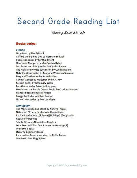 reading themes list reading book list for first grade shared reading book