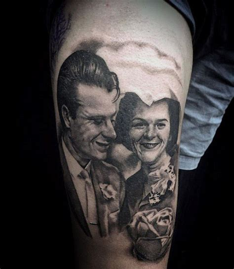 grandparents tattoo 100 memorial tattoos for timeless tribute design ideas