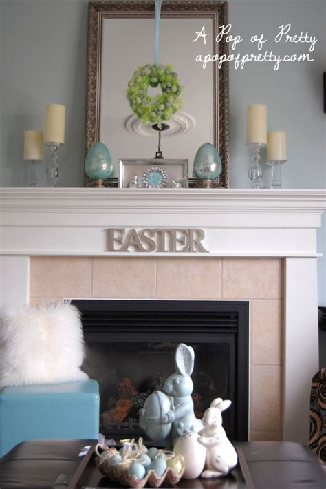 make it fresh 15 mantel decorating ideas for spring