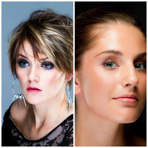 hair and makeup winnipeg natural look vs full makeup look feana make up artist